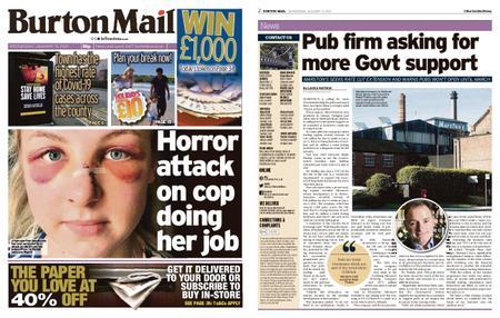 Burton Mail – January 13, 2021