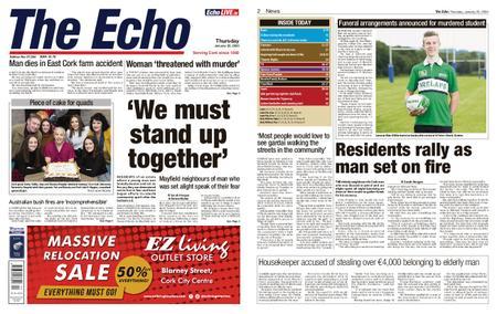 Evening Echo – January 23, 2020