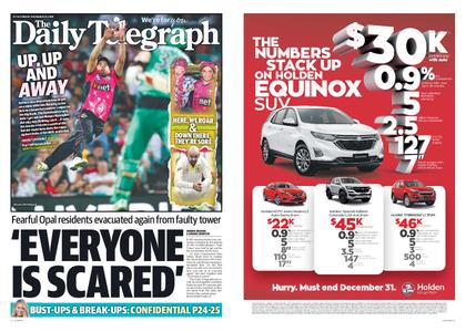 The Daily Telegraph (Sydney) – December 28, 2018