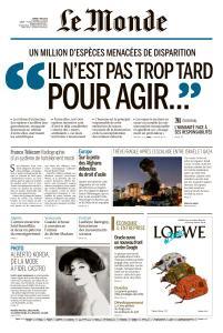 Le Monde du Mardi 7 Mai 2019