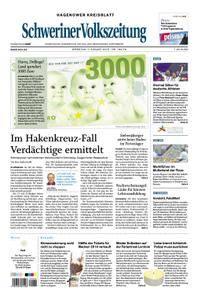 Schweriner Volkszeitung Hagenower Kreisblatt - 07. August 2018