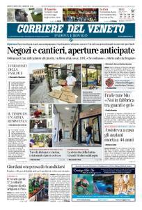 Corriere del Veneto Padova e Rovigo – 25 aprile 2020