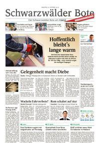 Schwarzwälder Bote Hechingen - 23. Oktober 2018