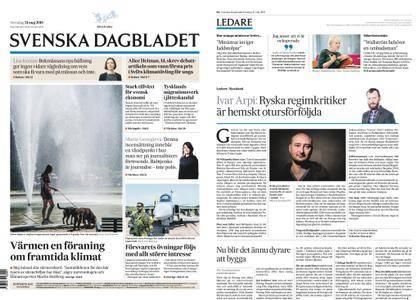 Svenska Dagbladet – 31 maj 2018