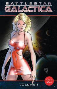 Battlestar Galactica Vol 1 TPB 2007 4 covers Digital