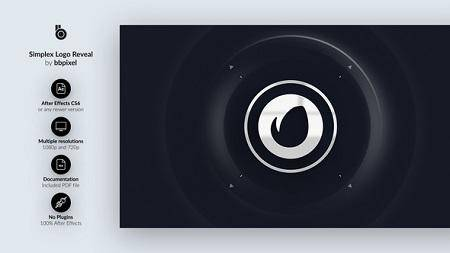 Simplex Logo Reveal 19499619 After Effects Template