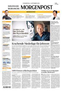 Solinger Morgenpost – 05. September 2019
