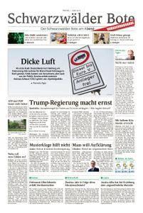 Schwarzwälder Bote Hechingen - 01. Juni 2018