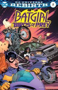 Batgirl  the Birds of Prey 002 2016 2 covers Digital Zone-Empire