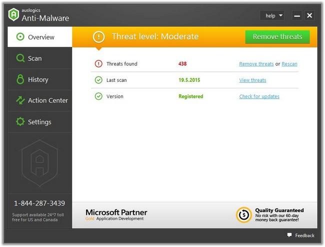 Auslogics Anti-Malware 1.20.0 Multilingual
