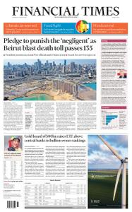 Financial Times Middle East - August 6, 2020