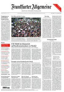 Frankfurter Allgemeine Zeitung F.A.Z. - 26. März 2018