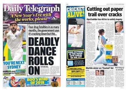 The Daily Telegraph (Sydney) – December 31, 2018