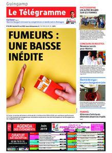 Le Télégramme Guingamp – 31 mai 2019