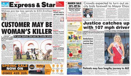 Express and Star City Edition – March 07, 2018