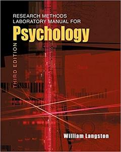 Research Methods Laboratory Manual for Psychology (3rd Edition)