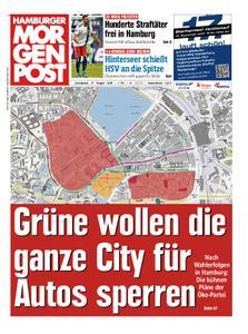Hamburger Morgenpost – 17. August 2019