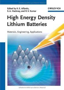 High Energy Density Lithium Batteries: Materials, Engineering, Applications (repost)