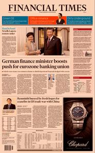 Financial Times Europe – 06 November 2019