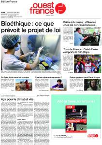 Ouest-France Édition France – 24 juillet 2019