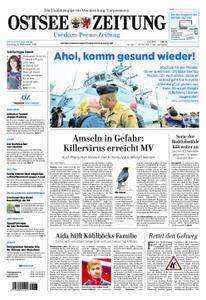 Ostsee Zeitung Wolgast - 11. September 2018