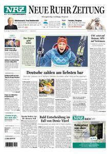 NRZ Neue Ruhr Zeitung Essen-Postausgabe - 15. Februar 2018