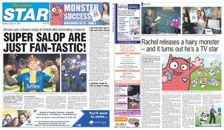 Shropshire Star Shrewsbury Edition – January 27, 2020