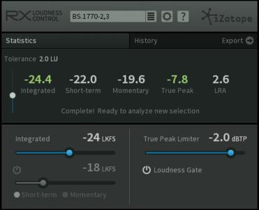 iZotope RX Loudness Control v1.03 WiN