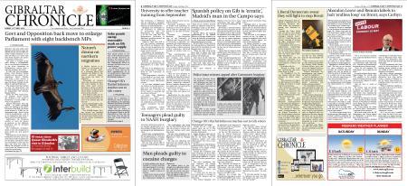 Gibraltar Chronicle – 10 May 2019