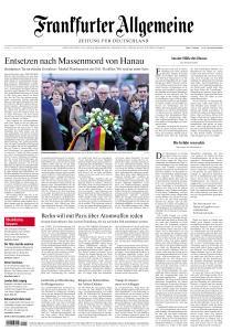 Frankfurter Allgemeine Zeitung - 21 Februar 2020