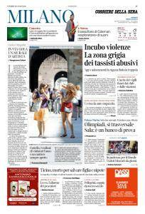 Corriere della Sera Milano - 20 Luglio 2018