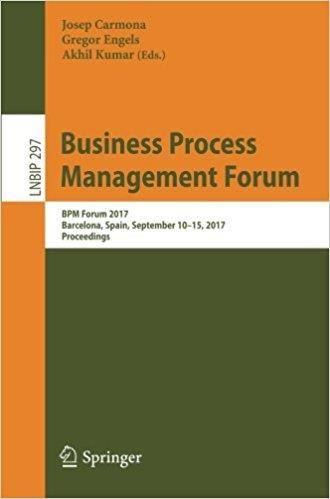 Business Process Management Forum: BPM Forum 2017