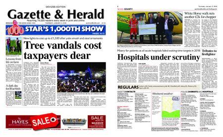 Gazette & Herald – January 03, 2019