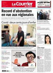 Le Courrier de l'Ouest Cholet – 19 juin 2021