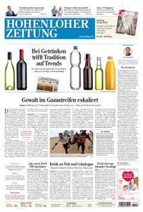 Hohenloher Zeitung Öhringen - 15. Mai 2018