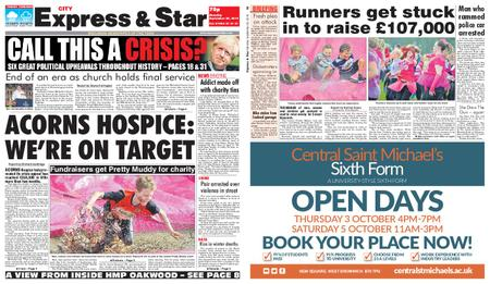 Express and Star City Edition – September 30, 2019