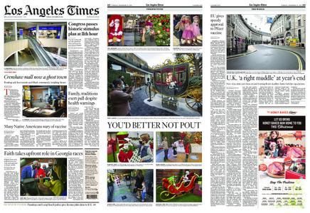 Los Angeles Times – December 22, 2020
