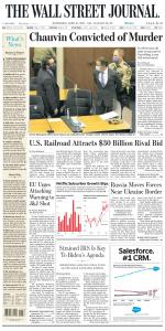 The Wall Street Journal - 21 April 2021