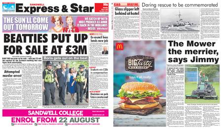 Express and Star Sandwell Edition – July 27, 2019