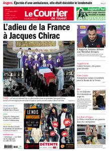 Le Courrier de l'Ouest Nord Anjou – 01 octobre 2019