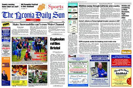 The Laconia Daily Sun – October 10, 2017