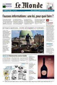 Le Monde du Vendredi 8 Juin 2018