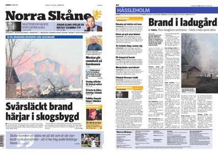 Norra Skåne – 24 april 2019