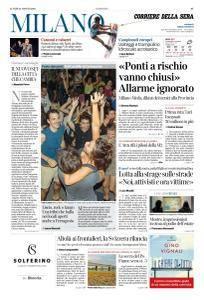 Corriere della Sera Milano - 13 Agosto 2018