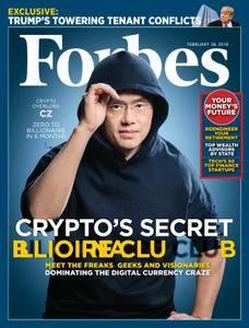 Forbes USA - February 28, 2018