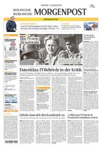 Solinger Morgenpost – 07. Januar 2019