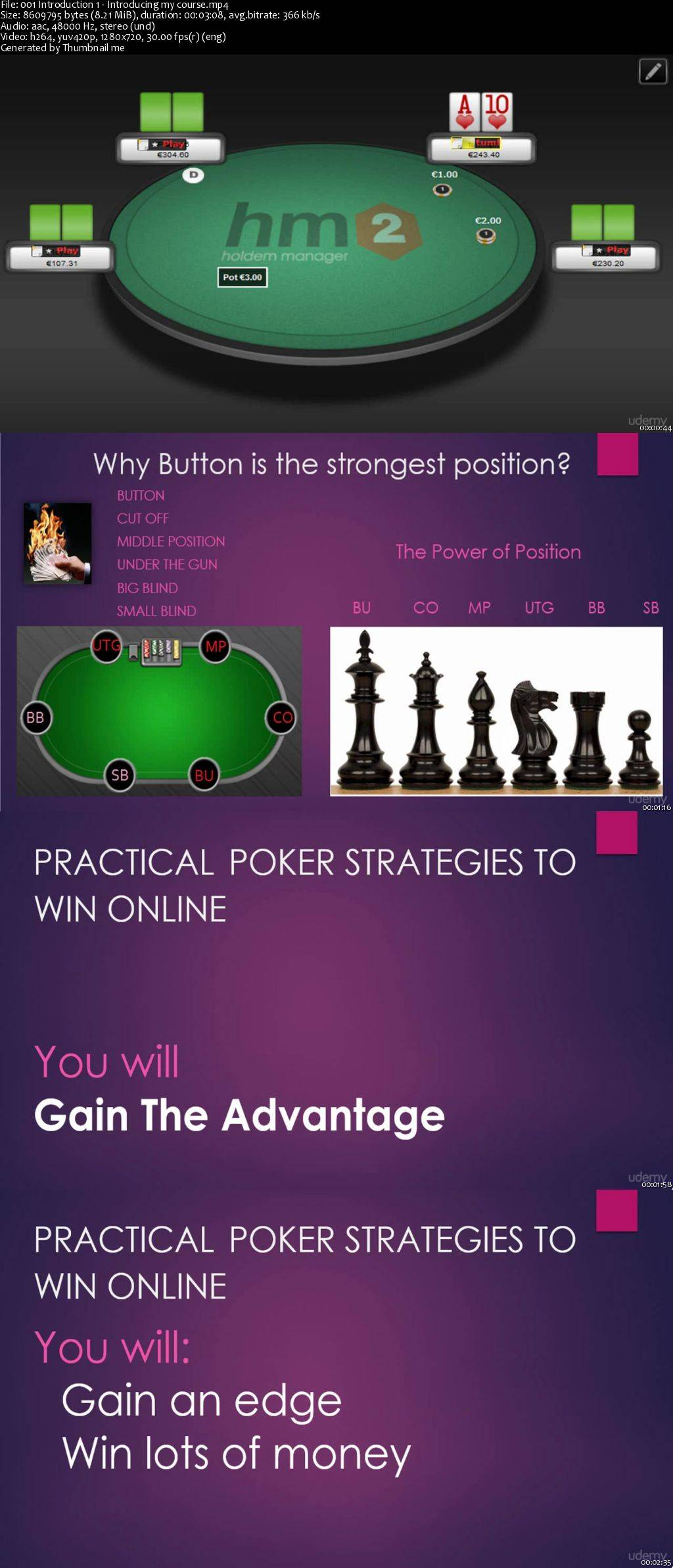 Practical poker strategies to win online