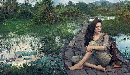 Angelina Jolie - Louis Vuitton ad campaign
