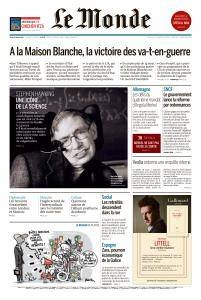 Le Monde du Jeudi 15 Mars 2018