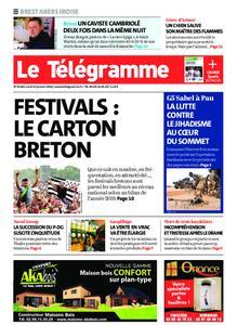 Le Télégramme Brest Abers Iroise – 13 janvier 2020